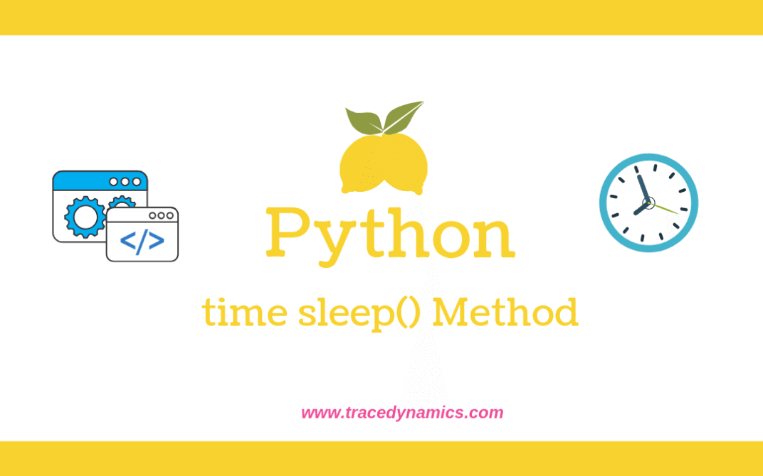 Sleep() Python Method